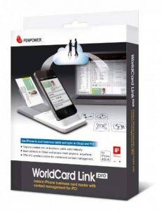 Scanner Portable Pro de carte de visite pour Iphone 4/4s - Worldcard Link Pro de la marque PenPower image 0 produit