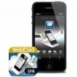 Scanner Portable Pro de carte de visite pour Iphone 4/4s - Worldcard Link Pro de la marque PenPower image 1 produit