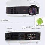 Seelumen Vidéoprojecteur Portable Full HD 3200 LM 1920x 1080Px LCD, HDMI, VGA, USB, SD pour Home Cinema, PS4, Nintendo Switch, Xbox One, Netflix, Movistar Plus de la marque Seelumen image 1 produit