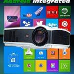 Seelumen Vidéoprojecteur Portable Full HD 3200 LM 1920x 1080Px LCD, HDMI, VGA, USB, SD pour Home Cinema, PS4, Nintendo Switch, Xbox One, Netflix, Movistar Plus de la marque Seelumen image 2 produit