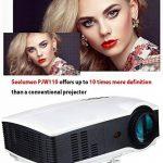 Seelumen Vidéoprojecteur Portable Full HD 3200 LM 1920x 1080Px LCD, HDMI, VGA, USB, SD pour Home Cinema, PS4, Nintendo Switch, Xbox One, Netflix, Movistar Plus de la marque Seelumen image 3 produit
