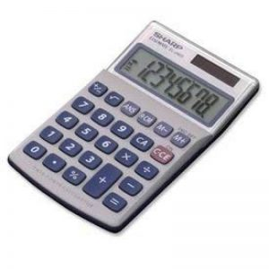 Sharp EL 240sab Calculatrice de la marque Sharp image 0 produit