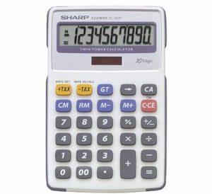 Sharp EL 334 Calculatrice (Import Royaume Uni) de la marque Sharp image 0 produit