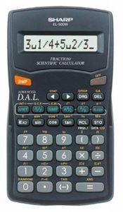 Sharp EL 500 M Calculatrice Scientifique de la marque Sharp image 0 produit