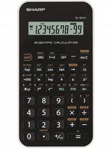 Sharp EL-501X Poche Calculatrice scientifique Noir, Blanc calculatrice - Calculatrices (Poche, Calculatrice scientifique, 10 chiffres, 1 lignes, Batterie/Pile, Noir, Blanc) de la marque Sharp image 0 produit