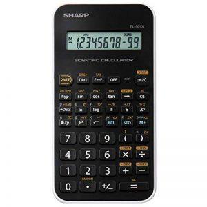 Sharp EL-501XB-WH Poche Calculatrice scientifique Noir, Blanc calculatrice - Calculatrices (Poche, Calculatrice scientifique, 12 chiffres, 1 lignes, Batterie/Pile, Noir, Blanc) de la marque Sharp image 0 produit