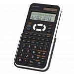 Sharp EL-506XB Poche Calculatrice scientifique Noir, Blanc calculatrice - Calculatrices (Poche, Calculatrice scientifique, 12 chiffres, 2 lignes, Batterie/Solaire, Noir, Blanc) de la marque Sharp image 1 produit