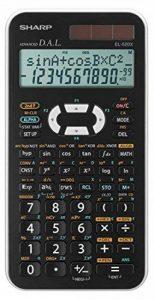 Sharp EL-520XWH Poche Calculatrice scientifique Noir, Blanc calculatrice - Calculatrices (Poche, Calculatrice scientifique, 12 chiffres, 2 lignes, Batterie/Solaire, Noir, Blanc) de la marque Sharp image 0 produit