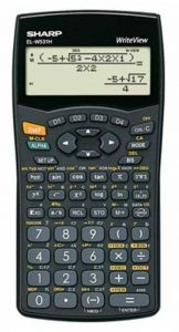 Sharp EL-affichage w531h Calculatrice scientifique, Write View, secondes I & II – Pile, baugleich avec EL w531b de la marque Sharp image 0 produit