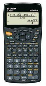 Sharp EL-affichage w531h Calculatrice scientifique, Write View, secondes I & II–Pile, baugleich avec EL w531b de la marque Sharp image 0 produit