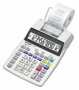 Sharp EL de pression de 1750V Calculatrice de bureau 12chiffres écran LCD de la marque Sharp image 0 produit
