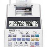 Sharp EL de pression de 1750V Calculatrice de bureau 12chiffres écran LCD de la marque Sharp image 1 produit