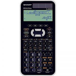 Sharp EL-DSC-W550x G Calculatrice scientifique Convient pour Bayern de Bade-Wurtemberg et noir de la marque Sharp image 0 produit
