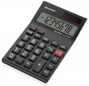 Sharp el-m700twh Bureau Calculatrice de bureau de la marque Sharp image 0 produit