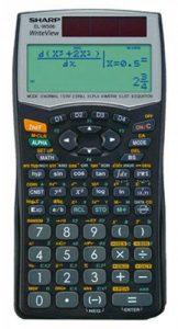 Sharp el-w506, réf. ELW531B WriteView Calculatrice scientifique, SEK II, twin-power de la marque Sharp image 0 produit
