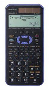 Sharp el-w506x-vl Réf. ELW531B WriteView Calculatrice scientifique Affichage Violet métallique 556fonctions twin-power pour Grammaire/école secondaire de la marque Sharp image 0 produit