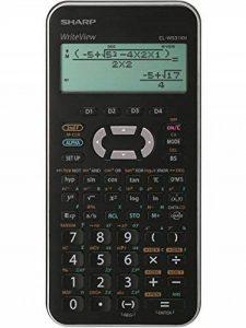 Sharp EL-W531XH Poche Calculatrice scientifique Noir, Argent calculatrice - Calculatrices (Poche, Calculatrice scientifique, 16 chiffres, Batterie/Pile, Noir, Argent) de la marque Sharp image 0 produit