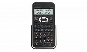 Sharp EL531WH Calculatrice scientifique Blanc (Import Royaume Uni) de la marque Sharp image 0 produit