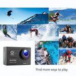 slpro® Action Cam 1080P Full HD sous l'eau Casque étanche caméra d'action caméra grand angle 170° avec accessoires Kits verbesserter Batterie Sports Appareil photo de la marque SLPRO image 4 produit