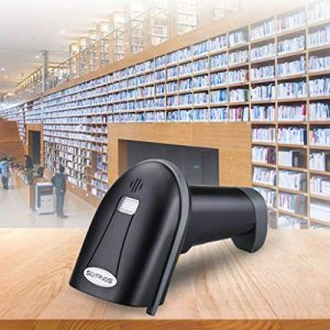 SLYPNOS Scanner de Code-Barres sans Fil, 2.4GHz sans Fil et USB Filaire Scanner à Code-Barres Filaire, Jusqu'à 70 m de portée de réception de la marque SLYPNOS image 0 produit