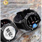 Smart Watch Bluetooth Fitness Montre - Écran tactile étanche, 1,5 pouces HD, compteur d'étape, fréquence cardiaque et moniteur de sommeil Bracelet Smart Sport pour IOS/Android, GPS Track de la marque HHRONG image 2 produit