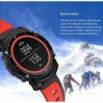 Smart Watch Bluetooth Fitness Montre - Écran tactile étanche, 1,5 pouces HD, compteur d'étape, fréquence cardiaque et moniteur de sommeil Bracelet Smart Sport pour IOS/Android, GPS Track de la marque HHRONG image 3 produit