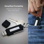 SMARTEX | Mini Enregistreur vocal 8 GB / 150 heures USB Audio - Microphone Spy - Bug - Enregistreur vocal Flash Drive USB 2 en 1 de la marque SMARTEX image 4 produit
