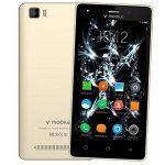 Smartphone Pas Cher 4G,8Pcs V A10 8Go ROM 5MP Appareil Photo Android 7,0 2800mAh Batterie Ecran 5,0 Pouces Double SIM WIFI GPS Quad Core Smartphone Debloqué (Or) de la marque image 1 produit