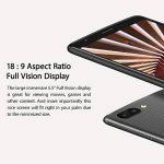Smartphone pas cher, Blackview A20 Smartphone Débloqué(5.5 pouces 18: 9 écran - Trois Caméras 5MP+2MP+0.3MP, Android 8.0/Go système, MTK6580 Quad core - 1Go RAM+8 GoROM, 3000mAh batterie, 3G Dual SIM WIFI GPS) - Noir de la marque Blackview image 3 produit