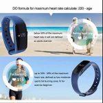 Smartwatch Bracelets énergétiques,Alertes/Mémos et Réveil,Montre de Sport Intelligent Bluetooth,Design Elégant,dormir moniteur,avec compteur de calories,rappel de danger,alarme et chronomètre de la marque BreLINE image 4 produit