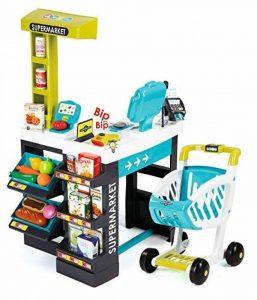 Smoby - 350206 - Supermarket - + Chariot et Caisse Enregistreuse Electronique - Balance et Lecteur CB - + 41 Accessoires Inclus de la marque Smoby image 0 produit