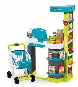 Smoby - 350207 - City Shop - Jeu Imitation avec Caisse Enregistreuse et Vraie calculette - 42 Accessoires Inclus de la marque Smoby image 0 produit