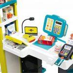 Smoby - 350207 - City Shop - Jeu Imitation avec Caisse Enregistreuse et Vraie calculette - 42 Accessoires Inclus de la marque Smoby image 4 produit