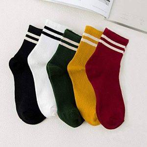Sock Filles Chaussettes Chaussettes Chaussettes de coton dans le baril marée des quatre saisons wild girl summer thin de la marque Sock image 0 produit