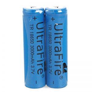 SODIAL(R) 2x18650 Batteries 3000mAh 3.7V rechargeable Li-ion rechargeable lampe torche de la marque SODIAL(R) image 0 produit