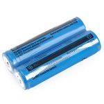 SODIAL(R) 2x18650 Batteries 3000mAh 3.7V rechargeable Li-ion rechargeable lampe torche de la marque SODIAL(R) image 2 produit