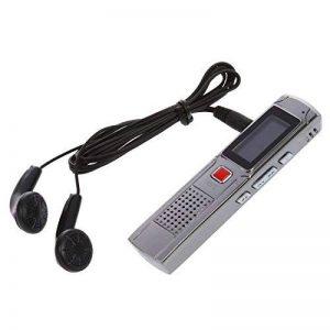 SODIAL(R) Argent Enregistreur Numerique Vocal Voix Dictaphone 8 Go GB MP3 + Ecouteur de la marque SODIAL(R) image 0 produit