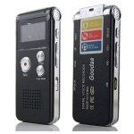 SODIAL(R) Multifonctionnel Rechargeable 4GB 325HR Digital Audio Enregistreur vocal Dictaphone Lecteur MP3 Noir de la marque SODIAL(R) image 1 produit