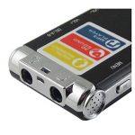 SODIAL(R) Multifonctionnel Rechargeable 4GB 325HR Digital Audio Enregistreur vocal Dictaphone Lecteur MP3 Noir de la marque SODIAL(R) image 2 produit