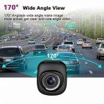 Sokache Mini Voiture Dash Cam Full HD 1080 P Caméra Avec 170 ° Grand Angle G-Capteur Loop Enregistrement Détection De Mouvement Moniteur De Parc,Black,56Mm de la marque Sokache image 2 produit