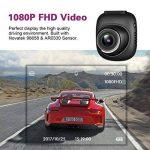 Sokache Mini Voiture Dash Cam Full HD 1080 P Caméra Avec 170 ° Grand Angle G-Capteur Loop Enregistrement Détection De Mouvement Moniteur De Parc,Black,56Mm de la marque Sokache image 1 produit