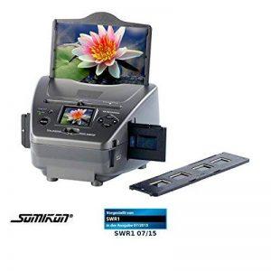 Somikon SD-1400 Scanner de diapositives, photos et négatifs avec capteur 14mpx et carte SD de la marque Somikon image 0 produit