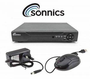 Sonnics Disque Dur 4canaux Enregistreur Vidéo numérique CCTV 1080N H.264AHD HD 720p VGA HDMI BNC + Mouse + Télécommande 2 to de la marque Sonnics image 0 produit