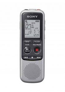 Sony ICD-BX140 Dictaphones Type de Stockage: Mémoire Interne, Activation Vocale, Enregistreur MP3 de la marque Sony image 0 produit
