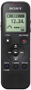 Sony ICD-PX370 Dictaphones Connexion PC, Type de Stockage: Mémoire Interne, Activation Vocale, Enregistreur MP3 de la marque Sony image 0 produit