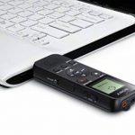 Sony ICD-PX370 Dictaphones Connexion PC, Type de Stockage: Mémoire Interne, Activation Vocale, Enregistreur MP3 de la marque Sony image 1 produit