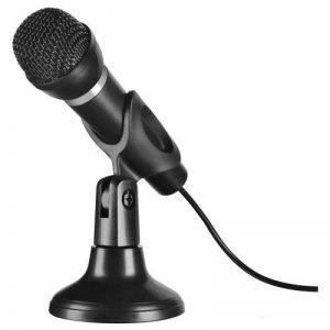 Speedlink Capo Microphone de Bureau et à Main (Idéal pour enregistrer la Voix et le Chant, Pied Inclus, Réducteur de Bruit, Connecteur Jack 3,5Mm) de la marque Speedlink image 0 produit