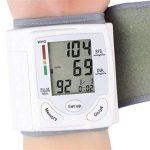Sphygmomanomètre - Sphygmomanomètre à poignet LCD numérique Mesure pulsomètre à fréquence cardiaque - Portable - Pour les dossiers de santé - Large et clair LCD est facile à lire de la marque AFHKU image 3 produit