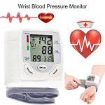 Sphygmomanomètre - Sphygmomanomètre à poignet LCD numérique Mesure pulsomètre à fréquence cardiaque - Portable - Pour les dossiers de santé - Large et clair LCD est facile à lire de la marque AFHKU image 4 produit