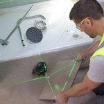 Stanley FatMax Niveau laser X3G, nivellement automatique avec diode verte, lunettes de vision de faisceau laser vertes, chargeur et mallette de transport, 1pièce, FMHT1–77356 de la marque Stanley image 4 produit